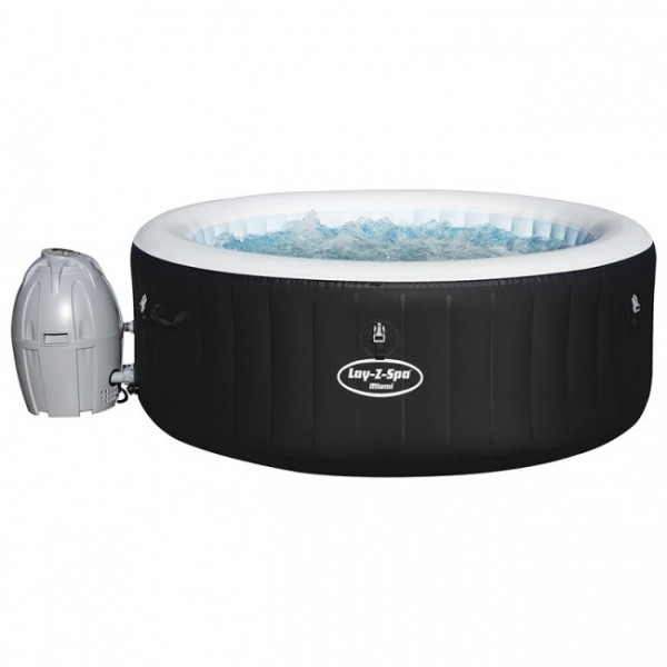 BESTWAY 54123 Lay-Z-Spa Rond Miami AirJet 2/4 places_01