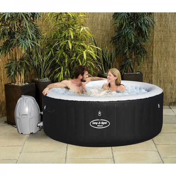 BESTWAY 54123 Lay-Z-Spa Rond Miami AirJet 2/4 places_04