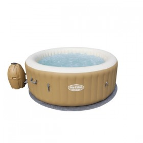 BESTWAY 54129 Lay-Z-Spa Rond Palm Springs AirJet 4/6 places_01