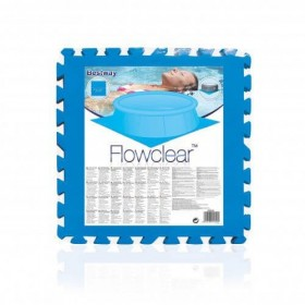 BESTWAY 14352 Lay-Z-Spa Lot de tapis de sol de protection bleu_01
