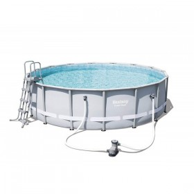 BESTWAY 56451 Kit Piscine Ronde Power Steel 488 cm x 122 cm_01