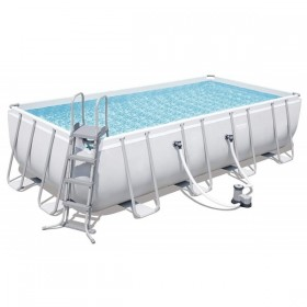 BESTWAY 56465 Kit Piscine Rectangulaire Power Steel 549 cm x 274 cm x 122 cm filtre à cartouche_01