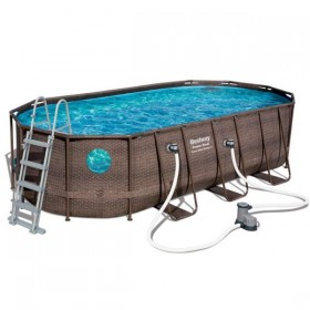 BESTWAY 56716 Kit Piscine Ovale Power Steel Vista 549 cm x 274 cm x 122 cm_01