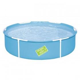 BESTWAY 56283 Piscinette tubulaire bleue 152 cm x 38 cm_01