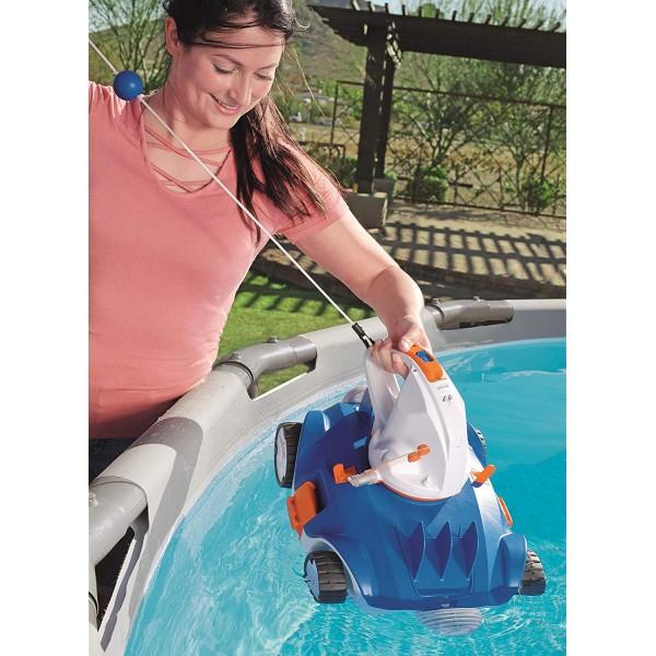 BESTWAY 58482 Robot nettoyeur autonome AQUATRONIX pour piscine_05