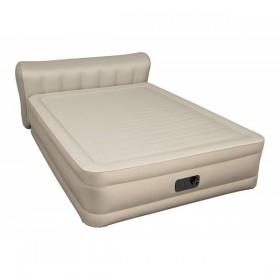 BESTWAY 69019 Matelas gonflable Confort Choice Fortach 51 cm avec tête de lit 2 places  avec pompe éléctrique intégrée_01