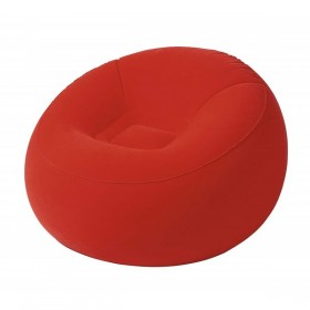 BESTWAY 75052-ROUGE Pouf gonflable Rouge_01