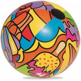 BESTWAY 31044 Ballon de plage Pop Beach Ball Diam 91 cm_01