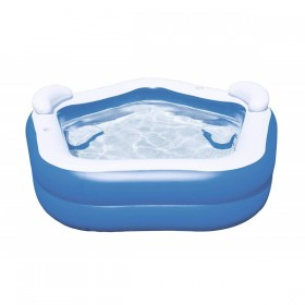 BESTWAY 54153 Piscine Octogonale Family Pool 213 cm x 206 cm x 69cm _01