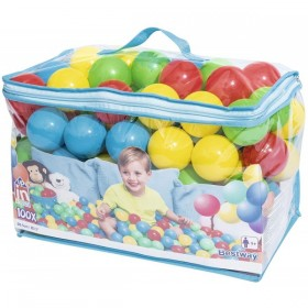 BESTWAY 52027 100 balles rebondissantes Splash and Play _01