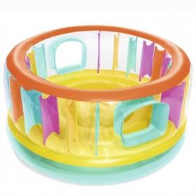 BESTWAY 52262 Trampoline gonflable BounceJam 180 cm x 86 cm_01