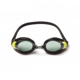 BESTWAY 21078-JAUNE Lunettes de natation Focus 7/13 ans Jaune_01