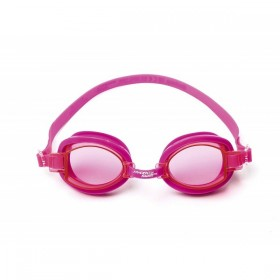 BESTWAY 21048-ROSE Lunettes de natation Rose Ocean Wave 7/13 ans_01