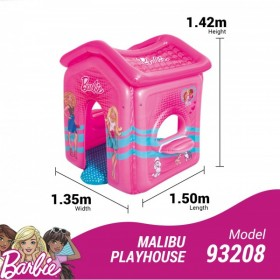 BESTWAY 93208 Barbie Maison Gonflable Malibu_02