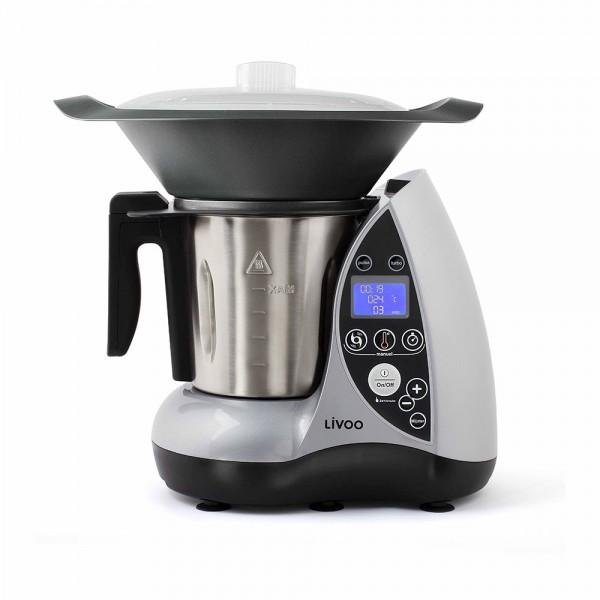 LIVOO DOP142G Robot culinaire chauffant gris
