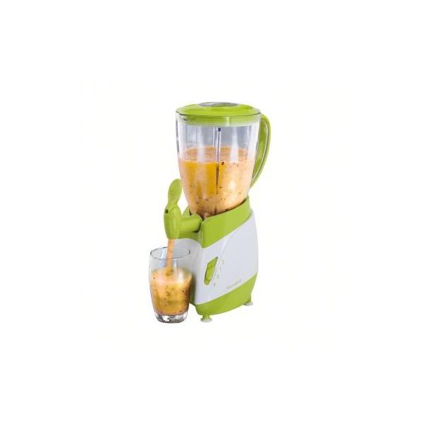 LIVOO DOP141BV Blender avec robinet verseur blanc et vert