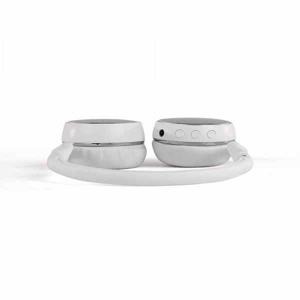 LIVOO TES207W Casque sport compatible Bluetooth® Blanc-03