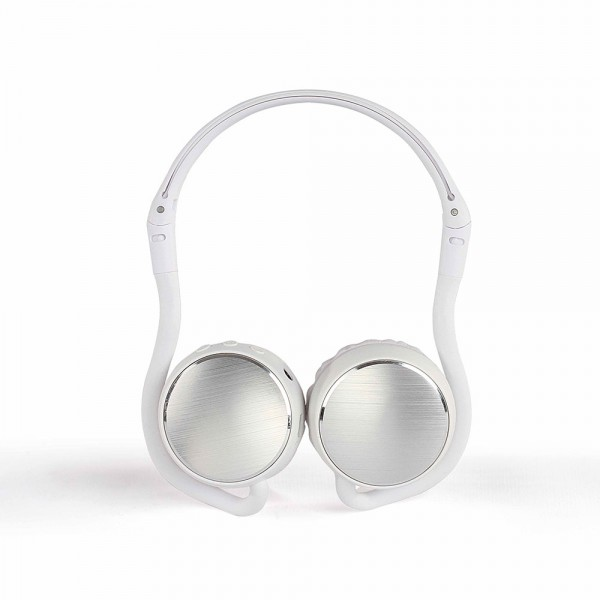 LIVOO TES207W Casque sport compatible Bluetooth® Blanc