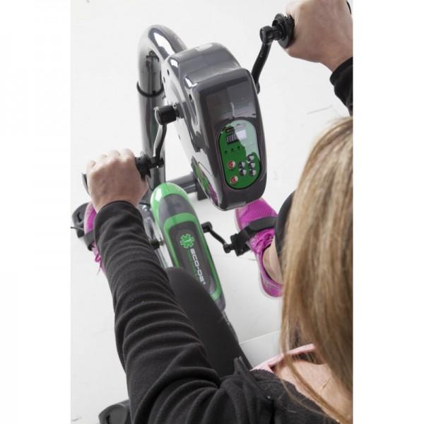 Vélo électrique dual training pour les jambes et les bras - ECO-DE - ECO-802 - 03