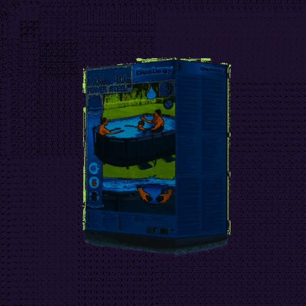 Piscine tubulaire ovale 305x200x84 cm BESTWAY- 5614A - 03