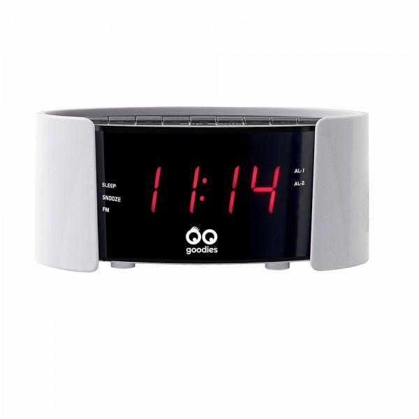LIVOO AR306B Radio-réveil FM PLL