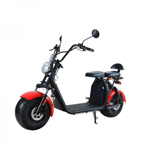 KIREST Scooter électrique Coco Cool ROUGE