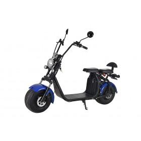 KIREST Scooter électrique Coco Cool BLEU - homologué route