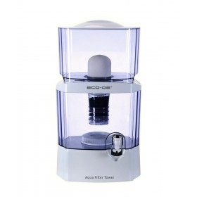 "ECO-DE ECO-3150 Purificateur d'eau ""Aqua Filter Tower"" 24 litres"