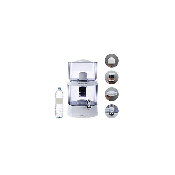 """ECO-DE ECO-3150 Purificateur d'eau """"Aqua Filter Tower"""" 24 litres"""