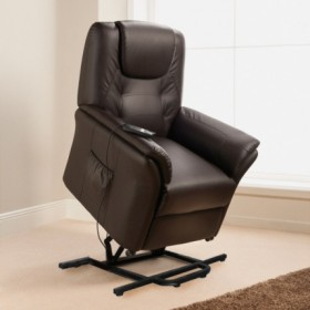 ECO-DE ECO-8196UP Fauteuil releveur massant marron Confort plus