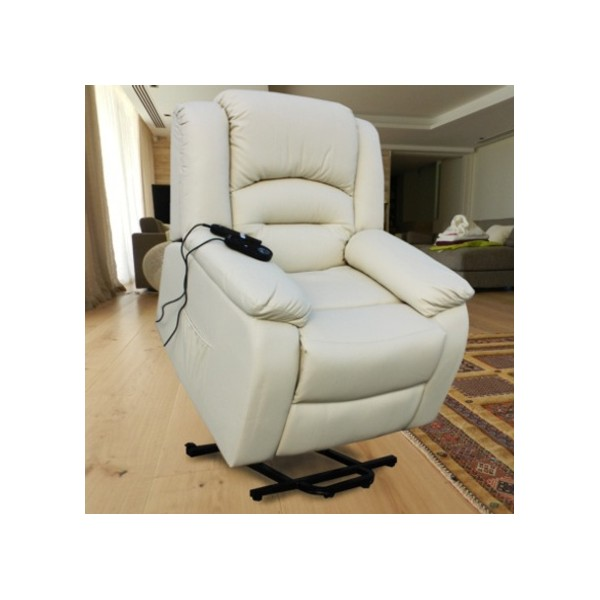 ECO-DE ECO-8198UP Fauteuil releveur massant beige Elevador Maximum Plus